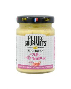 Mustard with garlic & shalotte Petits Gourmets® 100g
