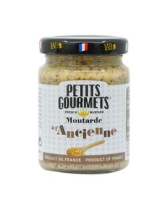 Traditional grainly mustard Petits Gourmets® 100g