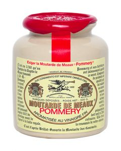 The Moutarde de Meaux® Pommery® 500g with wax