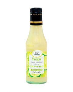 Vinaigre d'alcool 6° au sirop arom. à la pulpe de citron vert 25cl