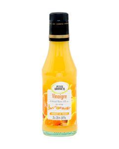Vinaigre d'alcool 6° au sirop aromatisé au jus d'orange 25cl
