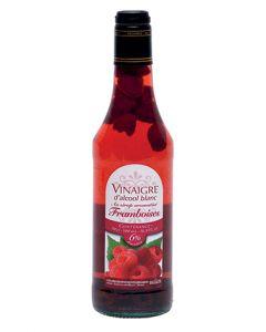 Vinaigre d'alcool 6° arom. au sirop de framboise et fruits 50cl