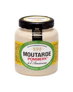Moutarde citron & basilic Pommery ® 100g