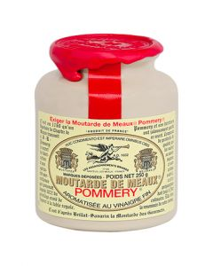The Moutarde de Meaux® Pommery® 250G with wax