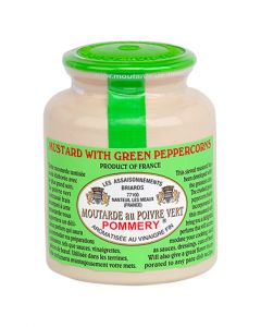 The green peppercorn mustard Pommery® 250g
