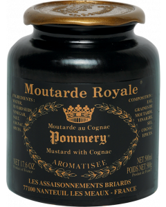 The Moutarde Royale au Cognac Pommery® 500g