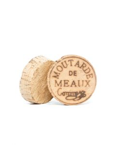 "100% natural cork stopper ""Moutarde de Meaux® Pommery®"" 500g"